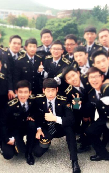 경찰공무원 합격후 사진
